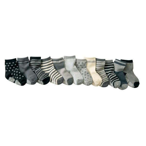 Newborn Baby Socks Cotton Boy Striped Floor Non-slip Childrens Anti Slip Wholesale 5pair 2pair 1pair