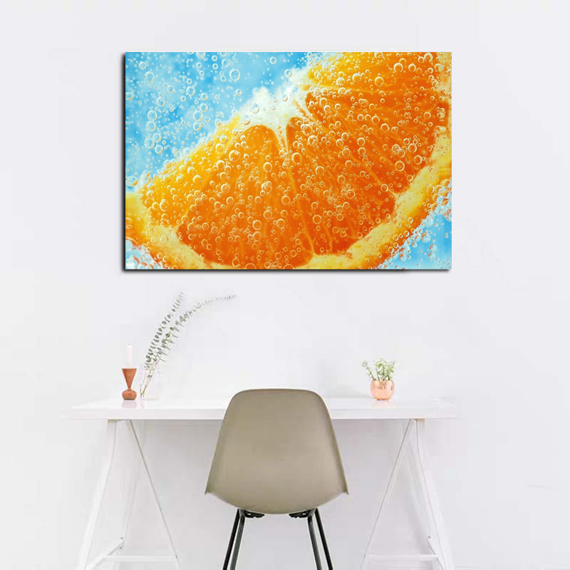 Fruit Close-Up Art Poster Picture Modern Wall Art Canvas Painting Unique Gift For Kitchen