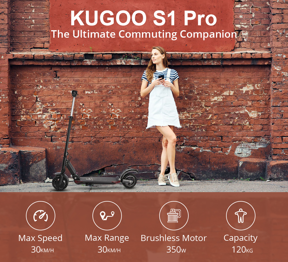 KUGOO Kvaliteetne elektriline tõukeratas