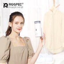 Szczotka parowa ROSPEC Generator ubrań składana ręczna parownica do ubrań maszyna do prasowania parowego żelazko przenośne do podróży