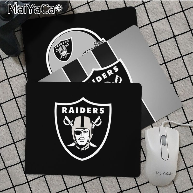 Maiya High Quality Oakland Raiders Durable Rubber Mouse Mat Pad Smooth Writing Pad Desktops Mate Gaming Mouse Pad