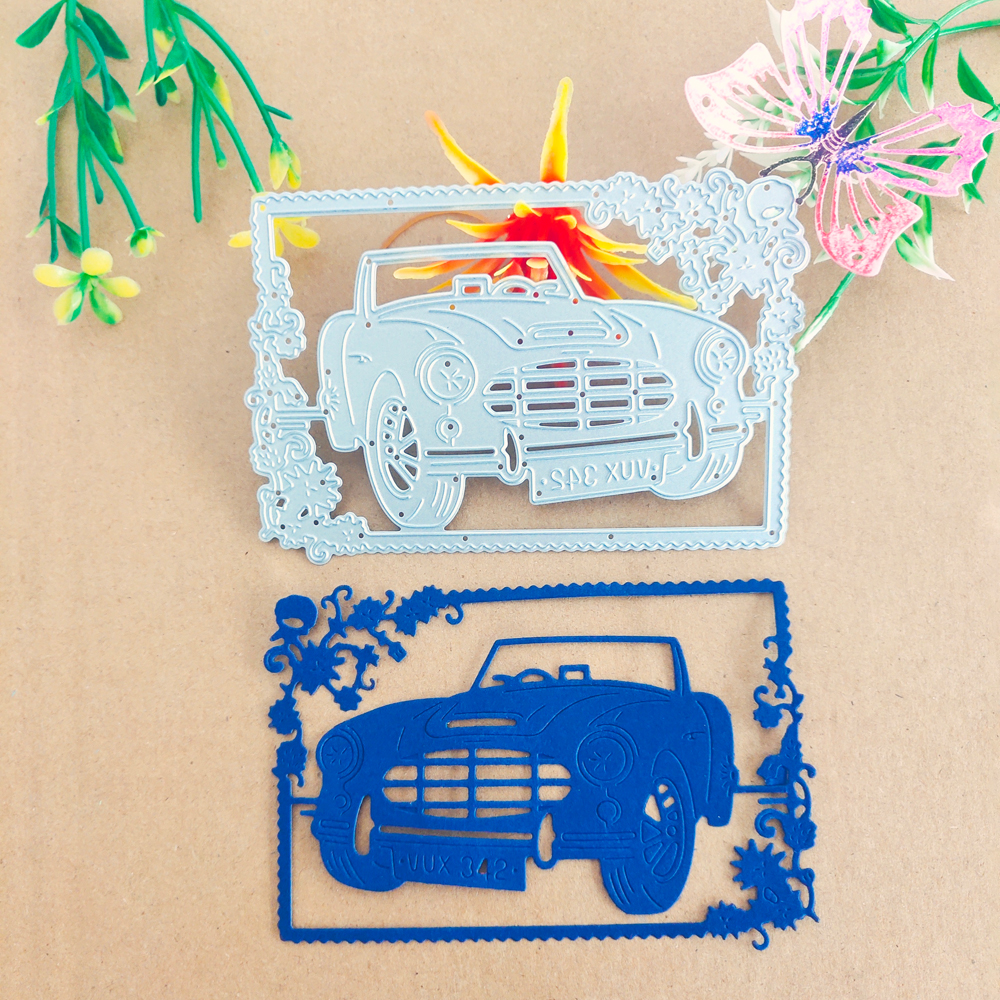 Automobile photo frame photo decorative metal cutting die cutting tool stamping die new paper jam