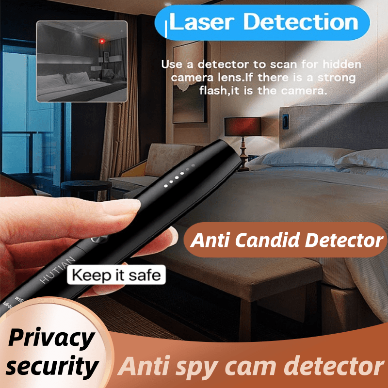 Delicate Anti Candid Detector Pen RF Wireless Signal Spy Wiretap Hidden Camera Finder Eavesdropping Audio Gsm GPS Tracker Bug Sc