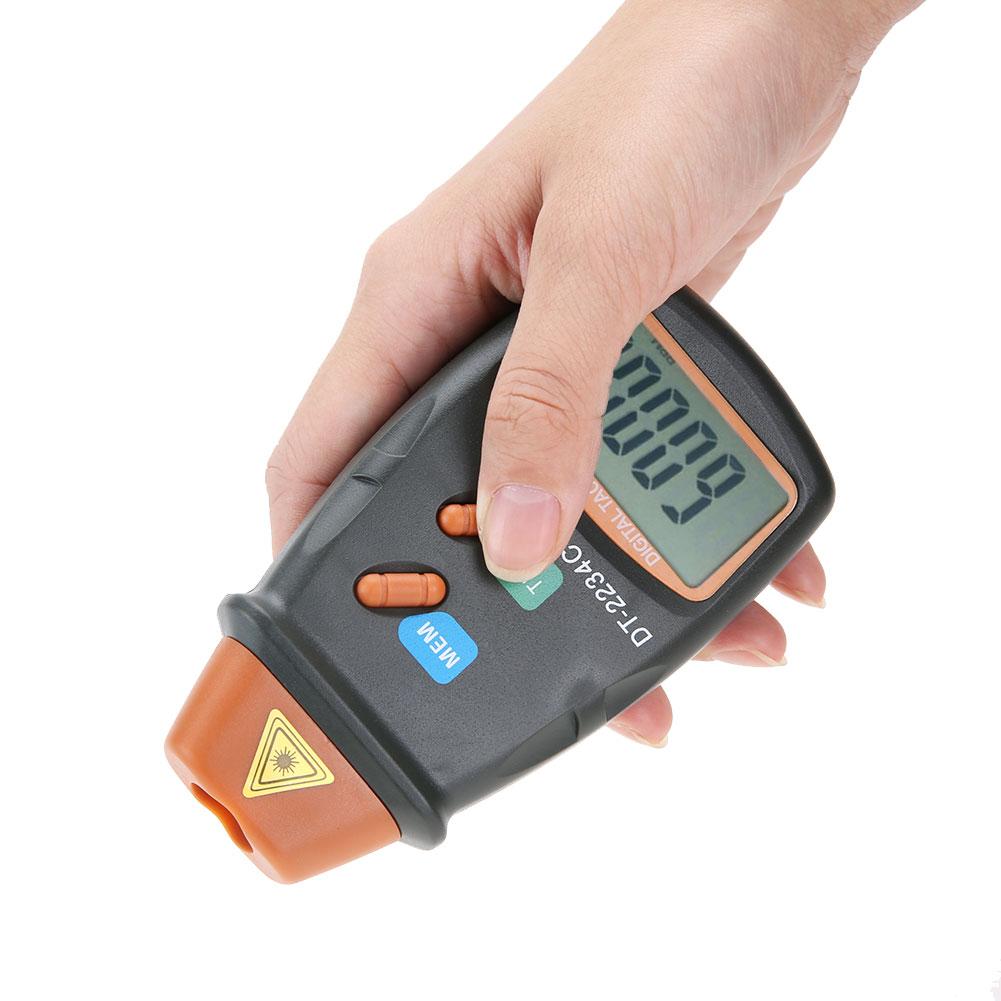 tacômetro 2.5rpm a 99999 rpm mini rpm