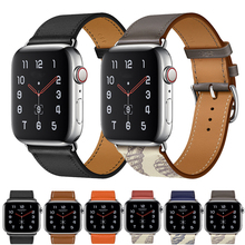 Strap for Apple Watch Band 44mm 40mm correa iwatch 42mm 38mm 5 4 3 2 leather double tour bracelet apple watch 5 4 accessories strap for apple watch band 4 44mm 40mm correa iwatch 42mm 38mm 3 2 1 leather double tour bracelet apple watch 4 accessories