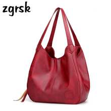 купить Women Ladies Bucket Bags Luxury Large Pu Leather Handbag Casual Women Bag Designer Shoulder Bag Black Business Bag Bolsos Mujer по цене 1090.95 рублей