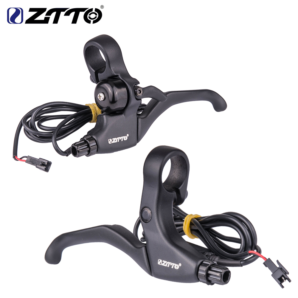 ZOOM MTB Mountain Bike Bicycle Brake Levers Integrated Bell Aluminium Alloy Part