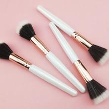 Foundation Brush Duo Fiber Stippling 1 PC Liquid Cream Powder Face Makeup Brushes Cosmetic Tool