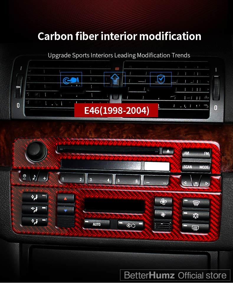 2 COLORES SERIE 3 1998 A 2006 TABLERO PORTAVASOS CENTRAL PARA BMW E46