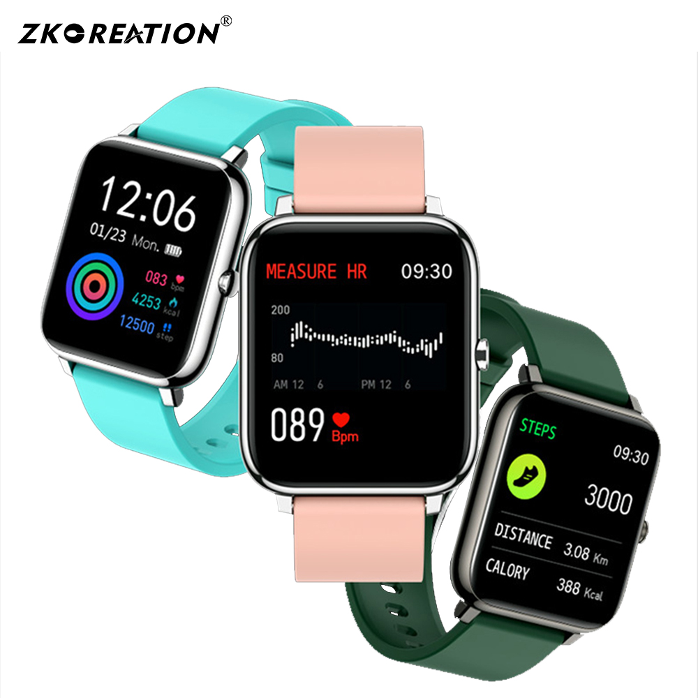 P22 Men Women Smart watch Heart Rate monitor Blood pressure Multiple Sport Smart Fitness tracker Smart Band smart watch tracker image
