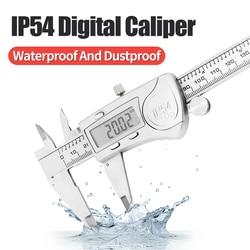 IP54 Digital Caliper Metal Material Waterproof And Dustproof 6 Inch/150mm Electronic Vernier Calipers Micrometer Measuring Tool