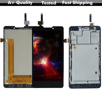 цена на 5.0'' LCD For Lenovo P780 Lcd Display Digitizer Touch Screen Assembly Replacement Parts + Free Tools