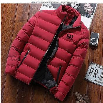 Brand men's parka coat winter men's parka coat jacket men's business casual fashion men's parka coat jacket недорого