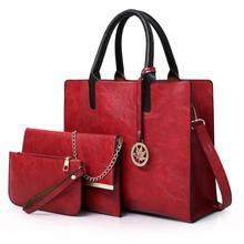 MICKY KEN 새로운 여성의 어머니 가방 간단한 PU 메신저 가방 패션 대용량 어깨 가방 고품질의 핸드백 Bolso femenino