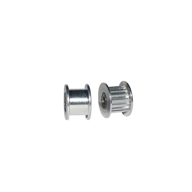 2gt 20 dentes síncrona da roda idler polia furo 3mm 4mm 5mm com rolamento para correia dentada gt2 largura 6mm 20 dentes 20 t