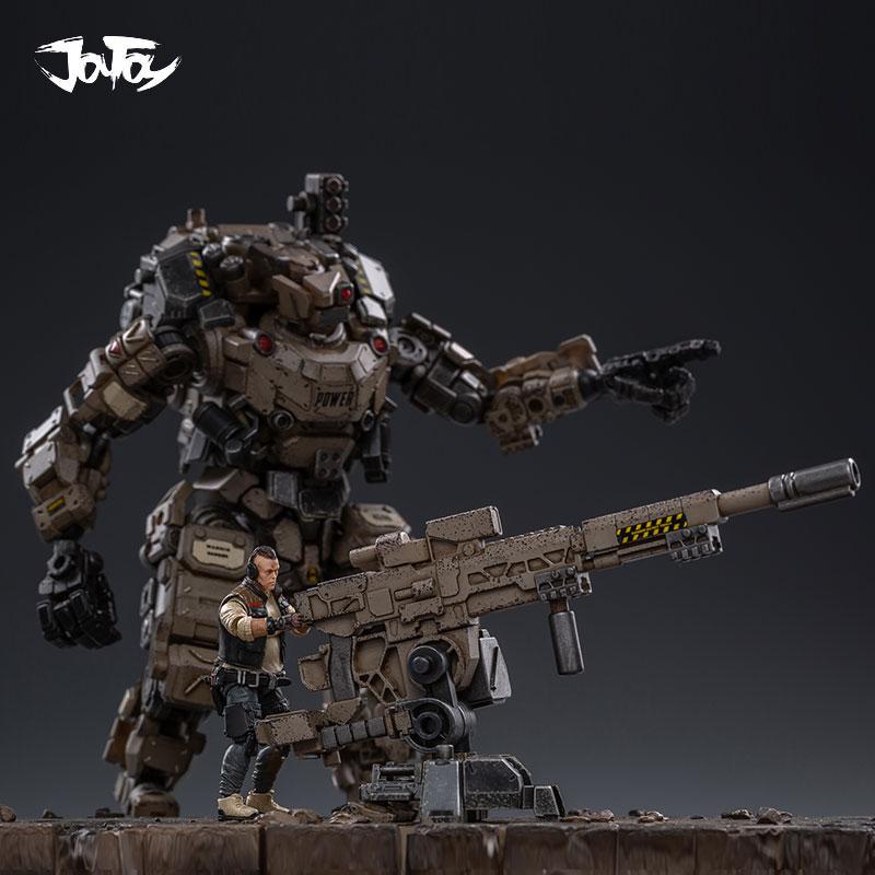 1/25 JOYTOY action figurine FSTEEL os armure méca et militaire soldat figure modèle jouets collection jouet cadeau de noël - 3