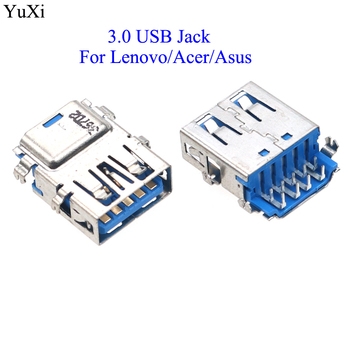 YuXi for Acer/Asus USB 3.0 Female Port Jack Replacement Connector for Lenovo Yoga 2 13 G40-70 Y50-70 Y70-70 usb c power charger for lenovo thinkpad x1 tablet lenovo yoga 910 910 13 910 13ikb 13 9' for acer switch alpha12 acer r13 acer