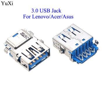 YuXi para Acer/Asus USB 3,0 Puerto hembra Jack reemplazo de conector para...