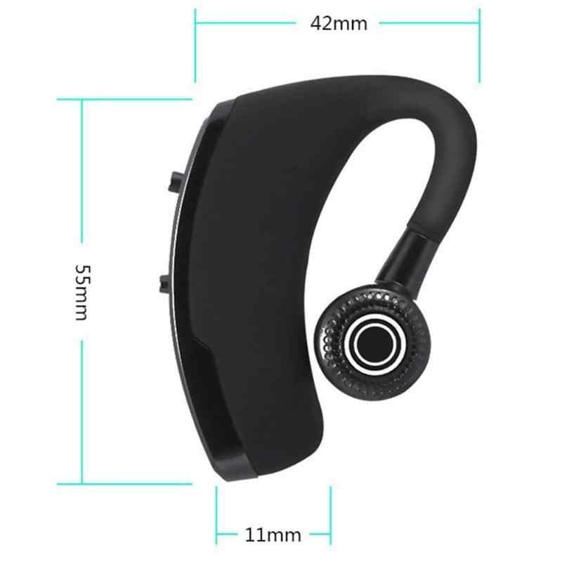 V9 bezprzewodowe słuchawki biznesowe Bluetooth zestaw głośnomówiący bezprzewodowe słuchawki Stereo do jazdy Earse wyjście z jednej pary słuchawek