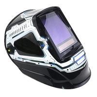 Auto Darkening Welding Mask View Size 100x93mm DIN 4 13 5 Sensors EN379 Welding Helmet