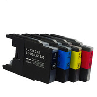 Cartucho de tinta LC1240 LC1280 LC73 LC77 Impressora Compatível para O Irmão MFC-J280W MFC-J430W MFC-J435W DCP-J525N DCP-J925N DCP-J525W