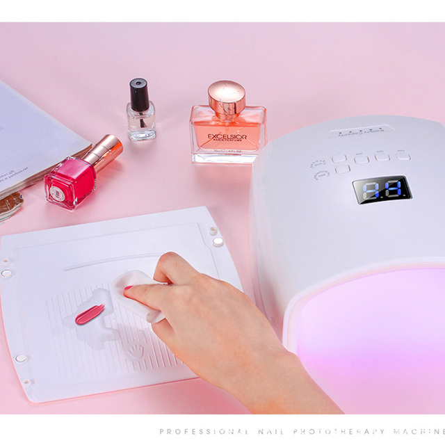 60W Built-in Battery Wireless UV Lamp S10 Gel Nail Polish Dryer Nail Curing Light Cordless LED Nail Lamp 6