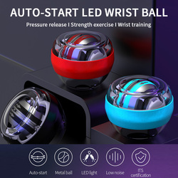 Fitness Gyroscope with LED Light   Wrist Ball Gym Super Powerball  Hand Ball Self-Starting  Muscle Relax Wrist Trainer