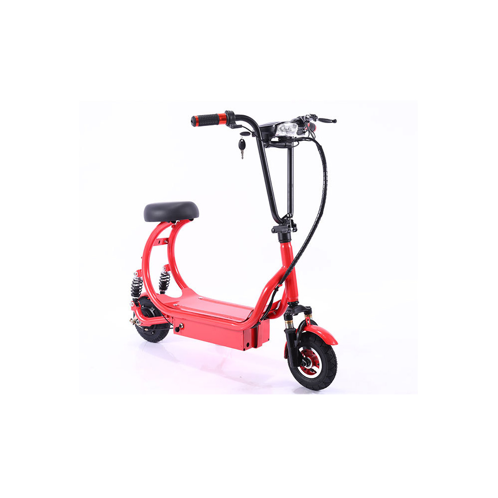 8inch <font><b>250w</b></font> Double Aluminum Alloy Drive Strong Power Adult <font><b>Electric</b></font> <font><b>Scooter</b></font> Foldable Hoverboard <font><b>Scooter</b></font> image