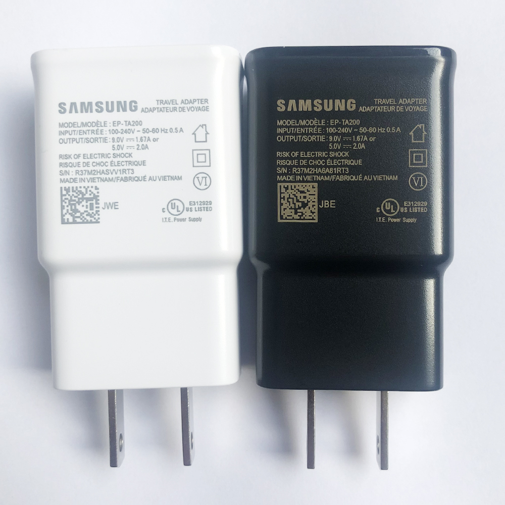 EP-TA200 ЕС и США 9V1. 67A быстро Зарядное устройство быстрый адаптер для путешествий для samsung Galaxy S10 S9 S8 S7 S6 Edge Plus J5 J7 J3 Note 9 8 7 5 3