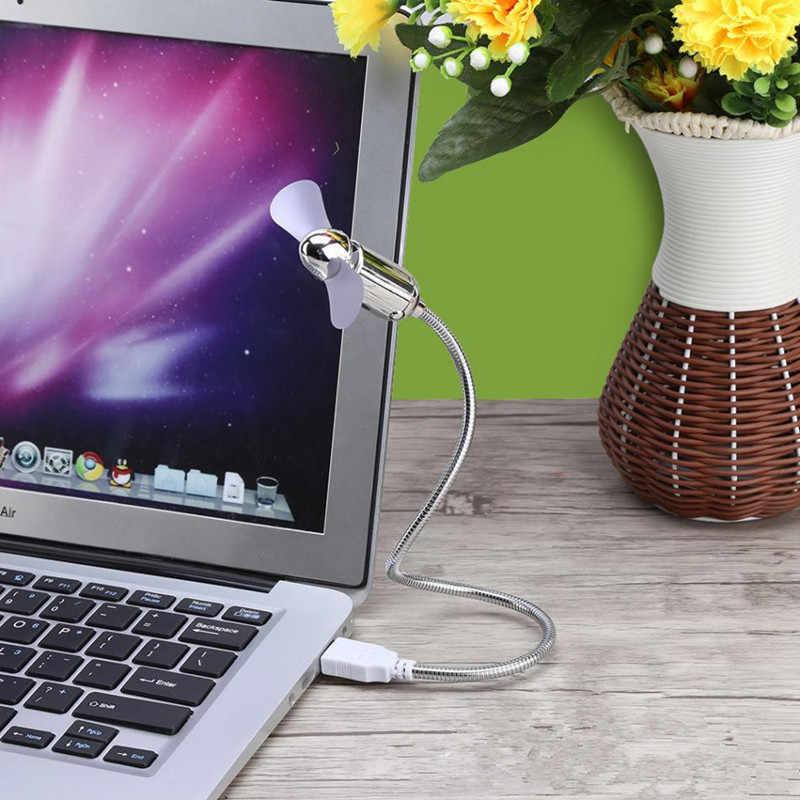 Mini ventilateur de refroidissement USB Flexible économiseur d'énergie avec interrupteur pour ordinateur portable