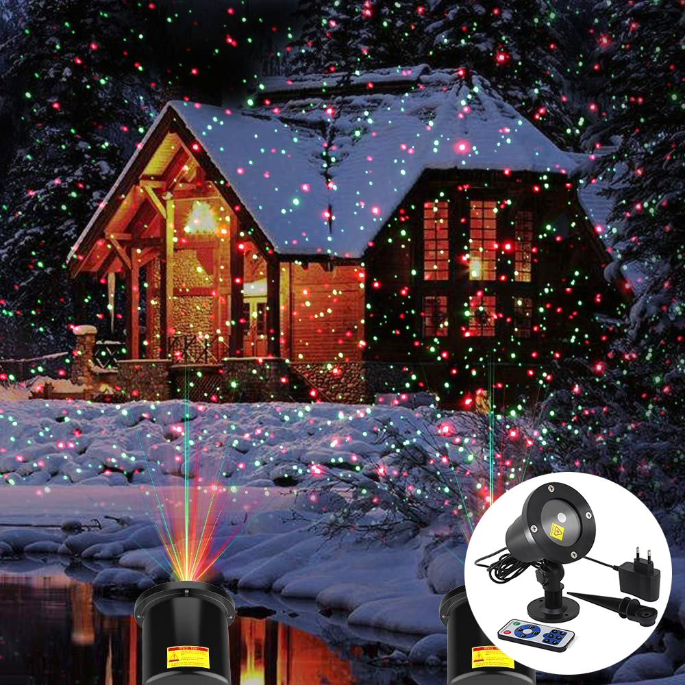 Outdoor Moving Full Sky Star Laser Projector Lights Christmas Party LED Stage Light Outdoor Landscape Lawn Garden Park Light