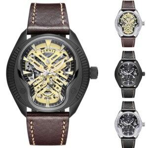 Image 3 - 高級 44 ミリメートルパーニスサファイアダイヤルカレンダー御代田レロジオ masculino 腕時計トップブランド自動機械式メンズ腕時計