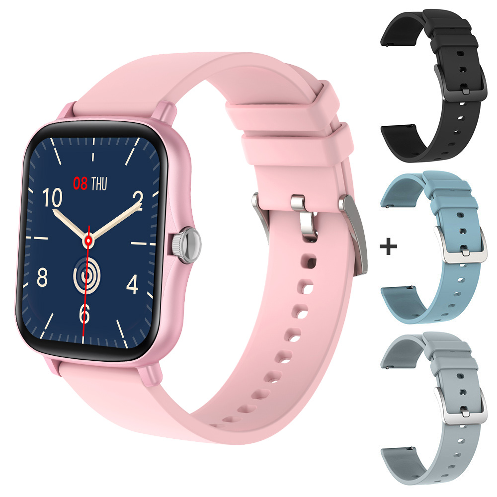 Pink with 3 straps