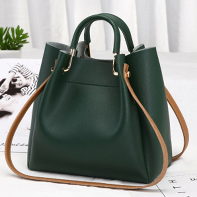 Women Lady Handbag Shoulder Bag PU Leather For Mobile Phone Keys Money Shopping J9