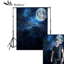 Beebuzz photo backdrop new halloween products a weird jungle background in the moonlighe take pictures at parties