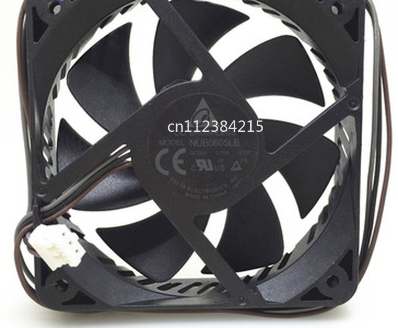 For NUB0605LB 6015 5V 0.15A -BQ01 Fan 60X60X15MM 60MM 6CM