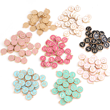 Letter Charms Handmade Pendant Alphabet Jewelry-Making Diy Bracelet Wholesale for A-Z