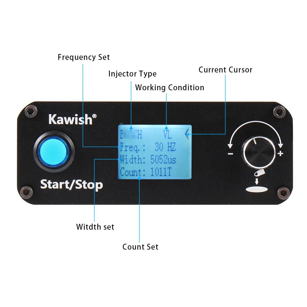 Купить с кэшбэком Common rail injector tester Kit  KW608 multifunction diesel USB Injector tester + S60H Common Rail Injector Nozzle tester