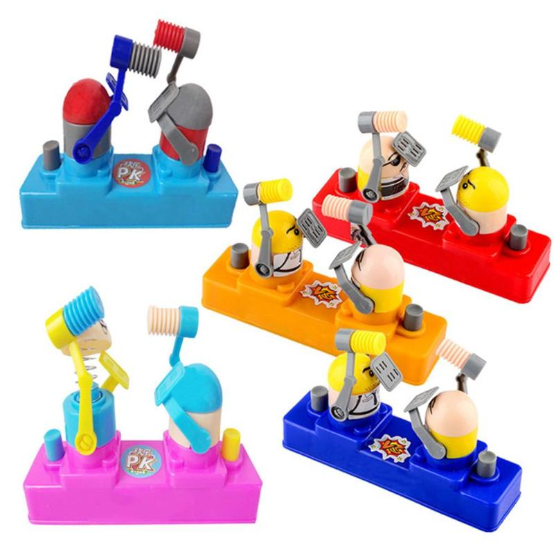 Stress Relief Toy Fighting Battle Robot Desktop Game Improving Practical Ability Develop Children Interest Early Education Toy
