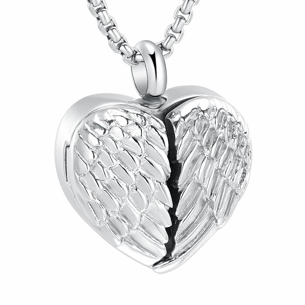 Openable-Angel-WIng-For-Photo-Of-Loved-Ones-Pets-Always-in-My-Heart-Cremation-Urn-pendant.