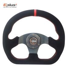 EPLUS-volante deportivo de carreras de PVC, Universal, 13 pulgadas, 325mm, de aluminio, modificado para estilo Omp