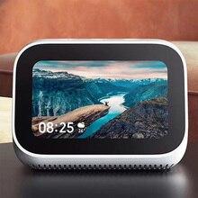 Xiao mi AI сенсорный экран Bluetooth 5,0 динамик 3,97 дюймов цифровой дисплей Будильник WiFi смарт соединение mi динамик
