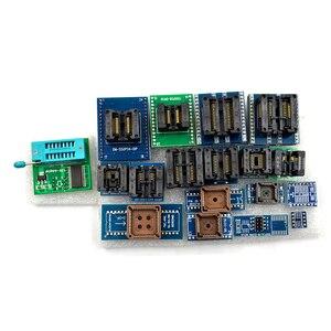 Image 4 - XGECU 100% Original Minipro TL866II Plus + 28 Adapters EEPROM Universal Bios USB programmer