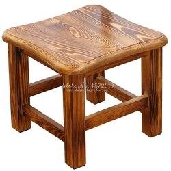 Log taboret Home Fashion z litego drewna kreatywna ławka dla dorosłych niski stołek stolik kawowy do salonu stołek stołowy stołek do butów na