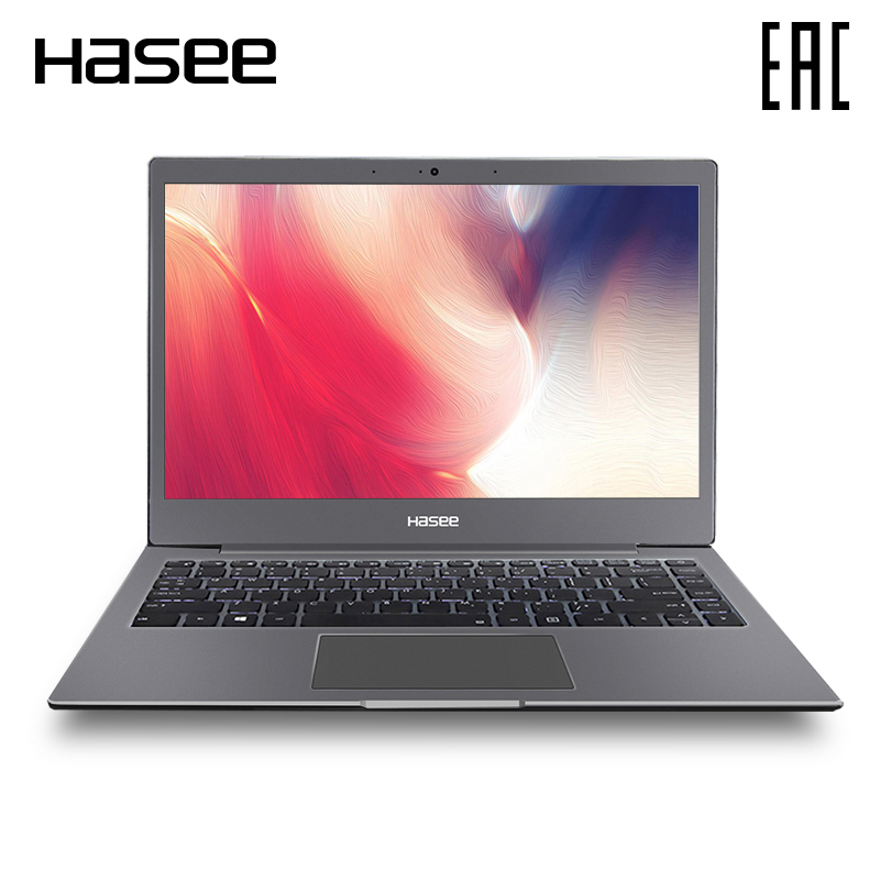 Ordinateur portable Ultra-mince Hasee X3 13,3 pouces IPS Intel dual core 3865U/8 go/256 go SSD/NoODD/DOS/72%/NTSC