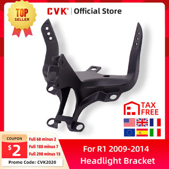 CVK Headlight Bracket Motorcycle Upper Stay Fairing For YAMAHA YZF 1000 R1 2009 2010 2011 2012 2013 2014 YZF-R1 Parts free shipping upper fairing stay bracket for yamaha r6 2006 2007 r6s 2006 headlight fairing stay bracket