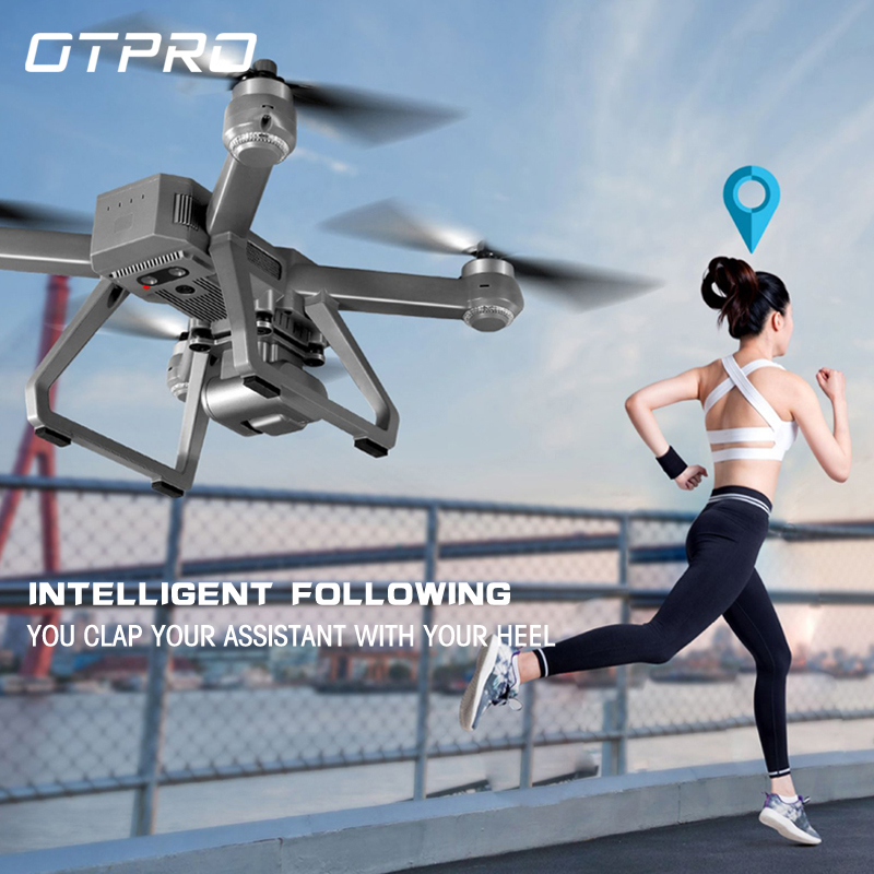 Permalink to OTPRO PRO 20 4K HD smart controller gps wifi Dron RC Quadcopter in stock original brand new mini drone Brushless Professional