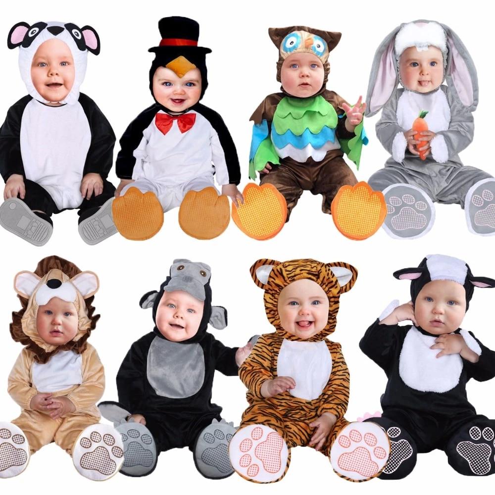 Baby Halloween Costumes Animals.Umorden Halloween Costumes Toddler Infant Baby Animals Tiger Lion Panda Bunny Owl Penguin Costume Cosplay For Baby Girl Boy Aliexpress