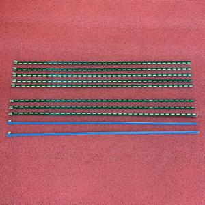Image 2 - Nouveau 5 kit = 10 PIÈCES 36LED LED bande de Rétro Éclairage pour LG 43LF5400 43LF5900 43UF9000 43LF5410 43UF9000 MAK63207801 UN G1GAN01 0794A 0793A