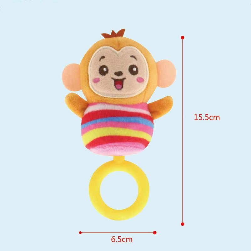 Super lindo llavero de cuerda pequeña de alta calidad muñeca de peluche pequeño plátano amarillo suave seguridad cómodo Peluche de juguete